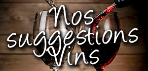 Nos Suggestions Vins